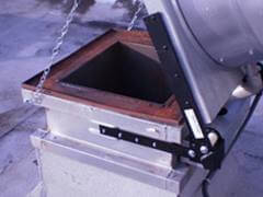 Sacramento Hood Cleaning Exhaust hood hinges installed
