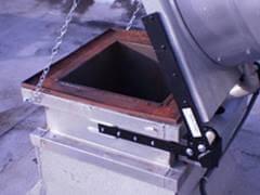 Sacramento Hood Cleaning Exhaust hood hinges installed